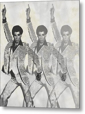 Stayin Alive Pop 2 Metal Print by Tony Rubino