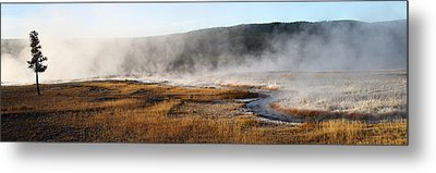 Metal Print featuring the photograph Steam Creek by David Andersen