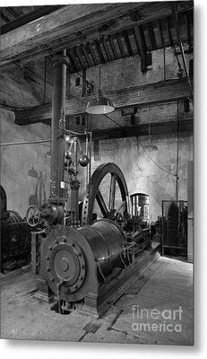 Steam Engine At Locke's Distillery Metal Print by RicardMN Photography