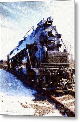 Steam Engine Locomotive 2124 Metal Print by Janine Riley