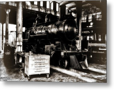 Steam Engine Metal Print by Michael White