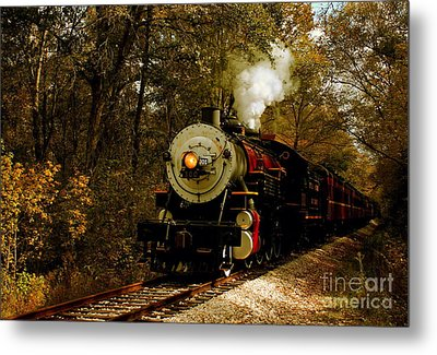 Steam Engine No. 300 Metal Print by Robert Frederick