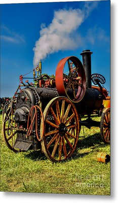 Steam Engine Metal Print by Trey Foerster