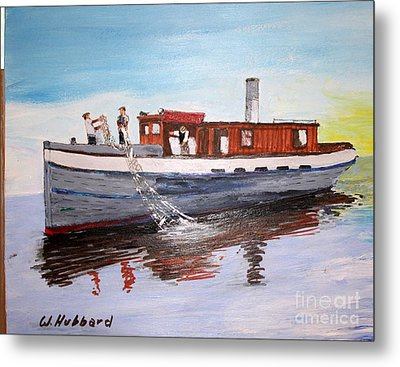 Steam Fishing Tug John Smith Metal Print