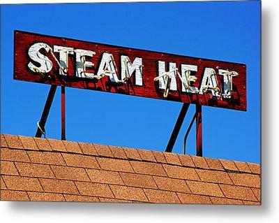 Steam Heat Metal Print by Daniel Woodrum