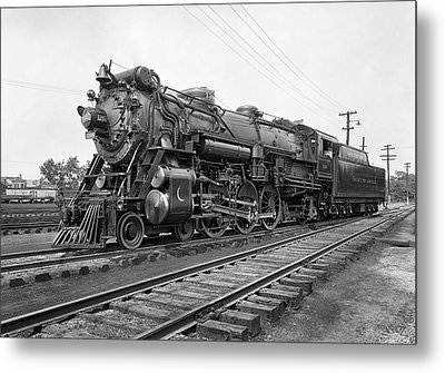 Steam Locomotive Crescent Limited C. 1927 Metal Print by Daniel Hagerman