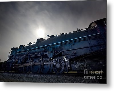 Metal Print featuring the photograph Steam Locomotive by Keith Kapple