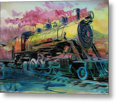 Aaron Berg Metal Print featuring the photograph Steam Powered by Aaron Berg