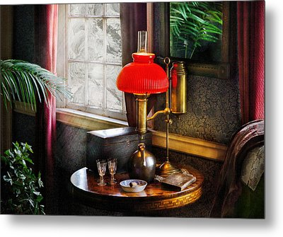 Steam Punk - Victorian Suite Metal Print by Mike Savad