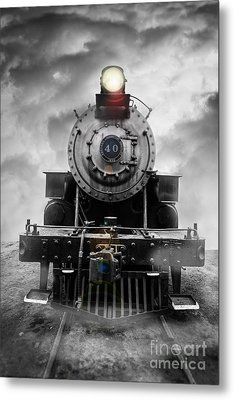 Steam Train Dream Metal Print