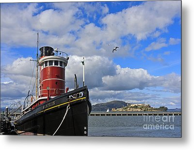 Metal Print featuring the photograph Steam Tug Hercules by Kate Brown