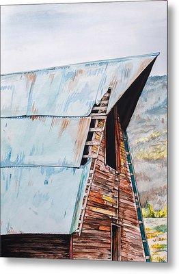 Steamboat Barn Metal Print by Aaron Spong