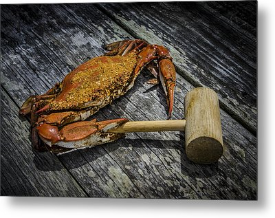 Steamed And Spiced 2 Metal Print