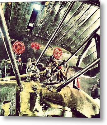 #steampunk Indeed #traveltown Metal Print