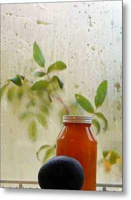 Steamy Window Metal Print by Pamela Patch