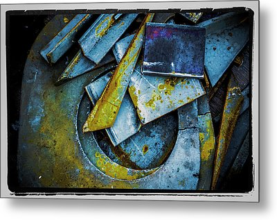 Metal Print featuring the photograph Steel Abstract Six by Craig Perry-Ollila