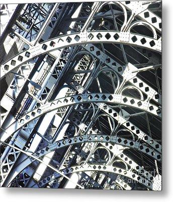 Steel Arches Metal Print by Sarah Loft