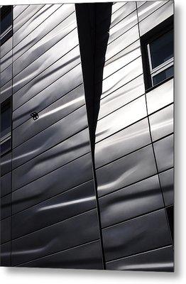 Steel Currents Metal Print by Rona Black