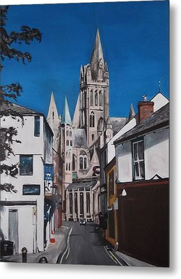 Steeples Metal Print by Cherise Foster