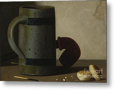 Stein And Biscuits Metal Print by Celestial Images