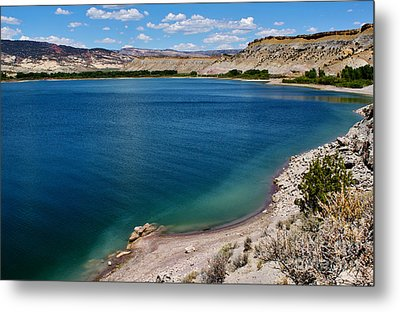 Metal Print featuring the photograph Steinacker Reservoir Utah by Janice Rae Pariza