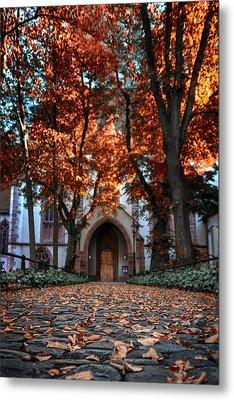 Autumn In Basel Metal Print