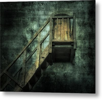 Stepping Into Mystery Metal Print by Svetlana Sewell