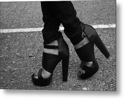 Stepping Out 2 Metal Print by Ester  Rogers