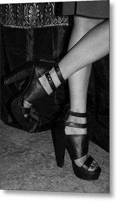 Stepping Out Metal Print by Ester  Rogers