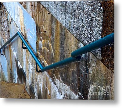 Stepping Outside The Lines Metal Print