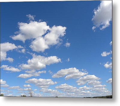 Metal Print featuring the photograph Stepping Stones In The Sky by Teresa Schomig