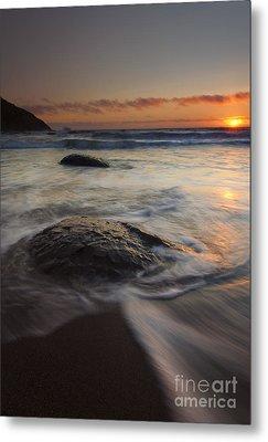 Stepping Stones Metal Print by Mike  Dawson