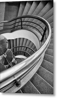 Steps  Metal Print by Nigel R Bell