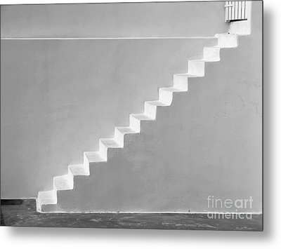 Metal Print featuring the photograph Steps To Heaven by Ana Maria Edulescu