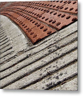 Metal Print featuring the photograph Stepwatch by Lee Craig