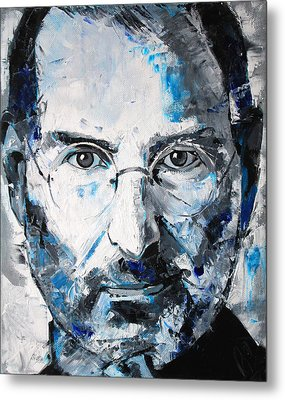 Steve Jobs Metal Print by Richard Day