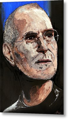Steven Paul Jobs Metal Print