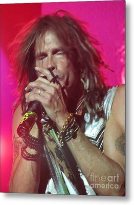 Metal Print featuring the photograph Steven Tyler Picture by Jeepee Aero