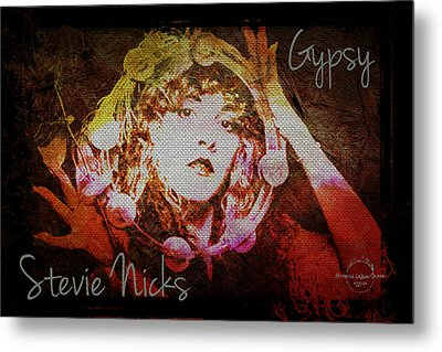 Stevie Nicks - Gypsy Metal Print