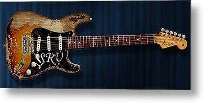 Stevie Ray Vaughan Stratocaster Metal Print