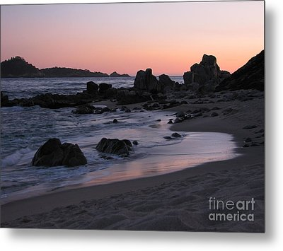 Stewart's Cove At Sunset Metal Print