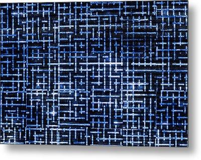 Stick Labyrinth Metal Print by Hakon Soreide