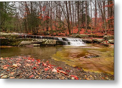 Metal Print featuring the photograph Stickney Brook 1 by Jeremy Farnsworth