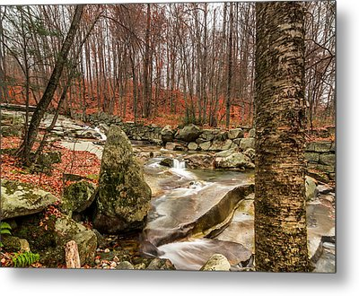 Metal Print featuring the photograph Stickney Brook 3 by Jeremy Farnsworth