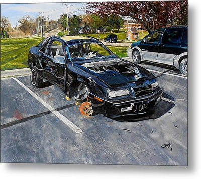 Still Life-1993 Chrysler Le Baron  Metal Print