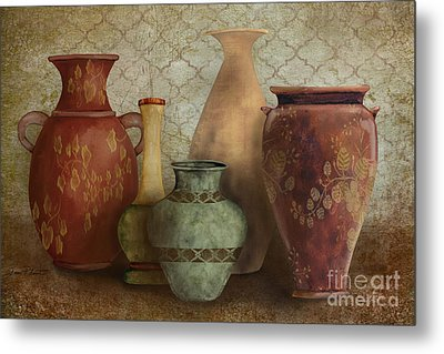 Still Life-a Metal Print by Jean Plout