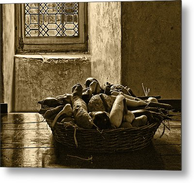 Still Life At Chenonceau Metal Print by Nikolyn McDonald