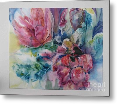 Still Life Metal Print by Donna Acheson-Juillet