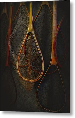Still Life - Fishing Nets Metal Print by Jeff Burgess