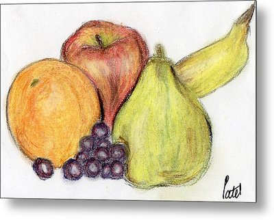 Still Life - Fruit Metal Print by Bav Patel